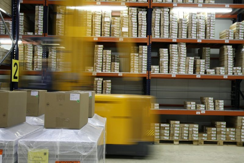 gestione logistica di magazzino