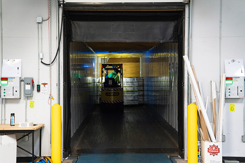 sicurezza magazzino gli ingressi